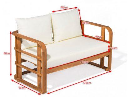 Lounge Sitzgruppe Abmessungen