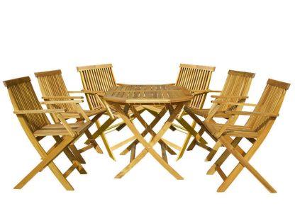 6-Sitzer Gartenmöbelset