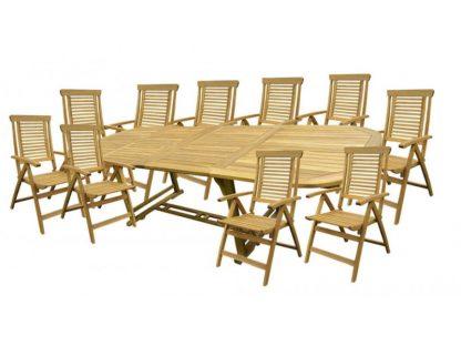 Gartenmöbel Set 10 Personen