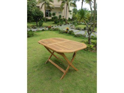 Gartentisch Set oval