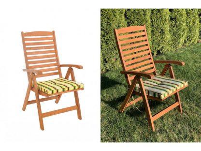 Sitzkissenset für 4 Gartenstühle