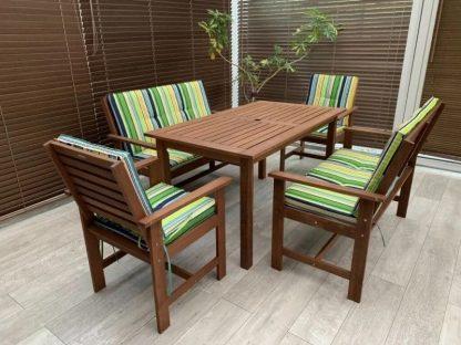 Garten Set Holz Casablanca