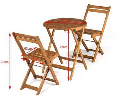 Gartenmöbel Set Holz