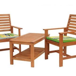 Gartentischset mit Sitzkissen