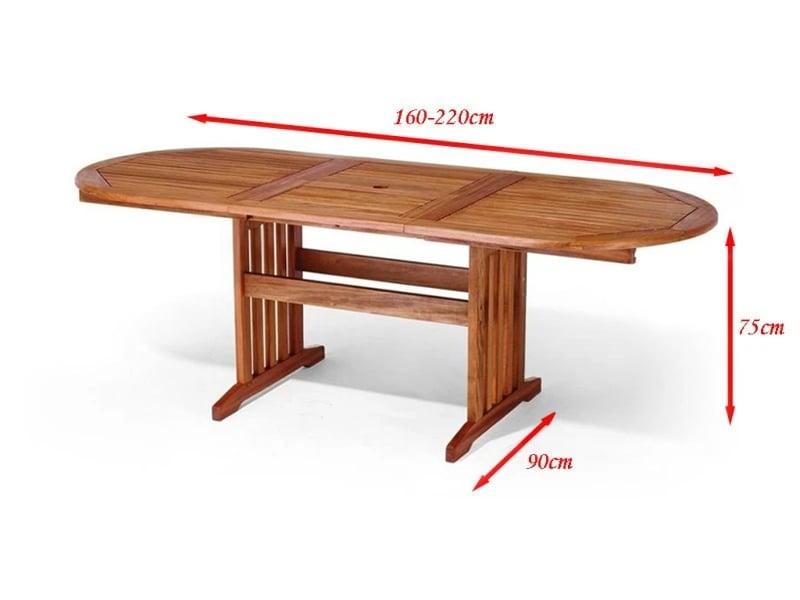Gartentisch 160x90
