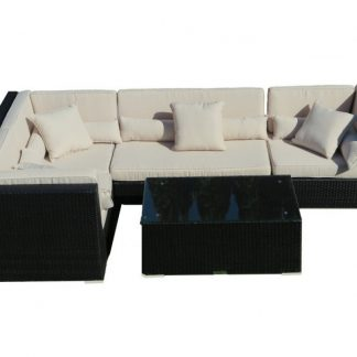 Polyrattan Lounge Set