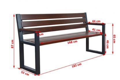 Balkonmöbel Set Holz mit Gartenban