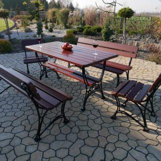 Gartenmöbel Alu Holz