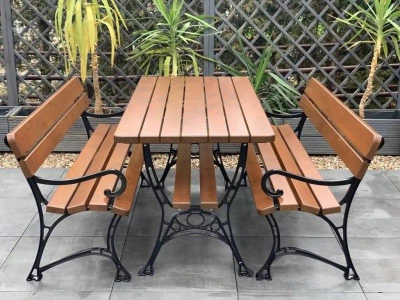 Gartenmöbel Set 3-teilig