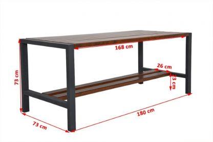 Balkonmöbel-Set Holz