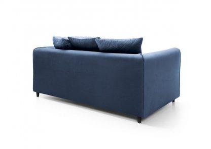 sofa blau zweisitzer