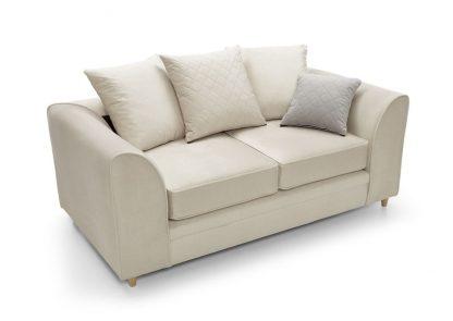 2 sitzer sofa günstig creme