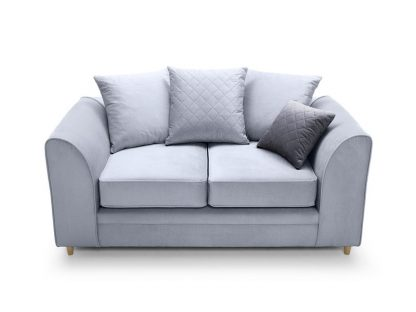 sofa 2 sitzer blau