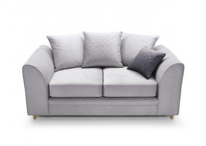 2-sitzer sofa grau