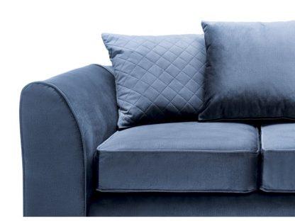 blaues 2-Sitzer-Sofa günstig