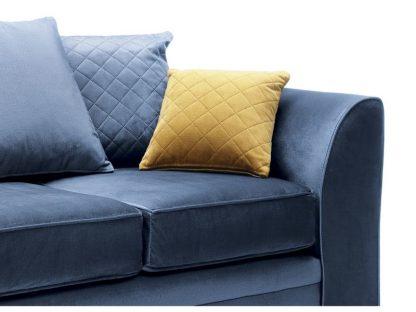 2 personen sofa blau