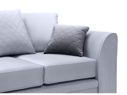 sofa silberblau